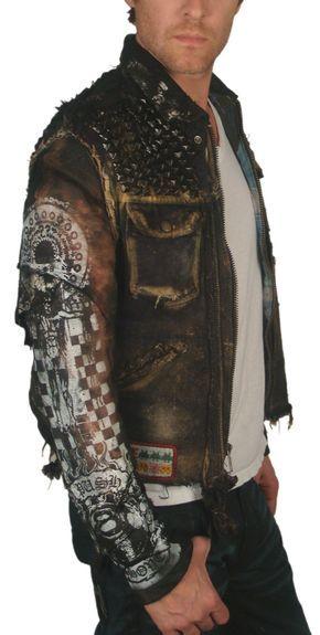 "Men's JUNKER DESIGNS - ""PANZER"" Custom Leather Jacket"