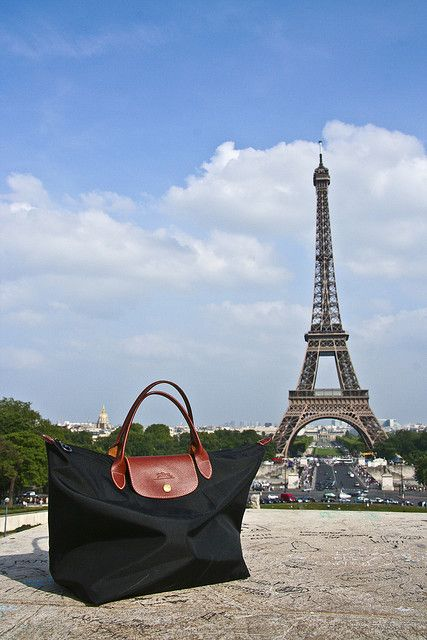 Shop For Portable Longchamp Eiffel Tower Tote White