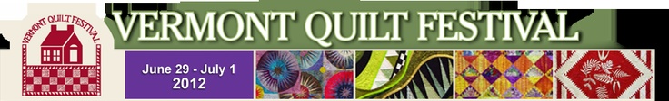 Annual Quilt Festival in June, next best thing to looking at the foliage!
