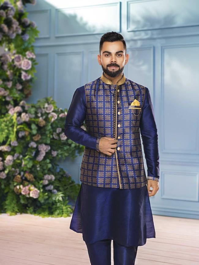Virat Kohli My Personal Favorite Look Is The Royal Blue