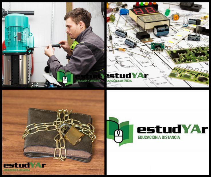 Aprende #Bobinado y reparacion de motores electricos, #Cerrajeria, #Electronica digital o elegí entre nuestra gran variedad de cursos que tenemos disponibles para vos en http://estudyar.com/
