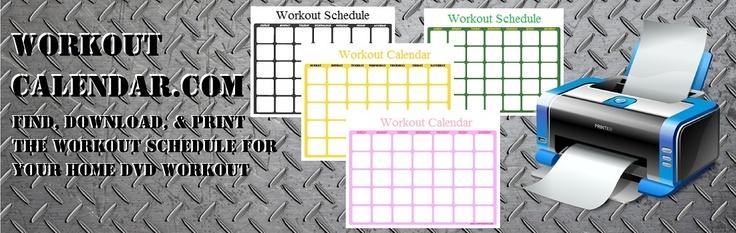 35 besten Insanity Workout Schedule Bilder auf Pinterest ...