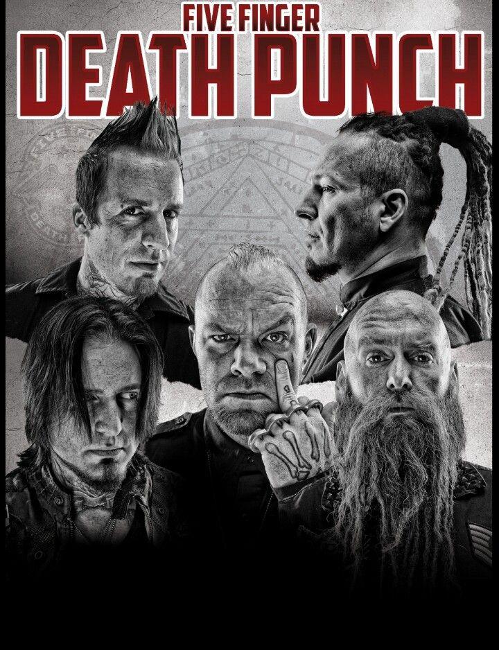 71 best Five Finger Death Punch images on Pinterest | Music, Punch ...