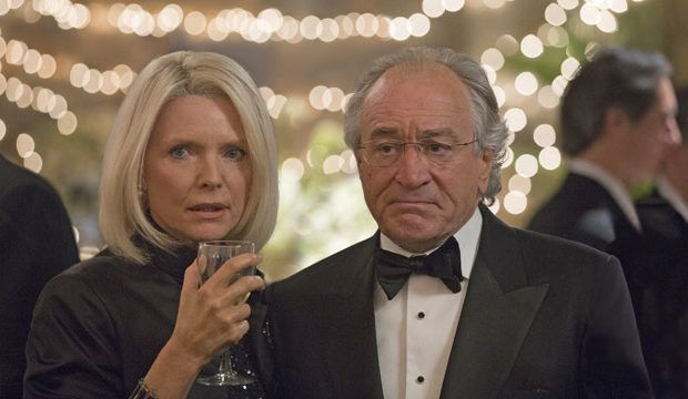 The Wizard of Lies': First look at Robert De Niro as Bernie Madoff, Michelle Pfeiffer as Ruth Madoff