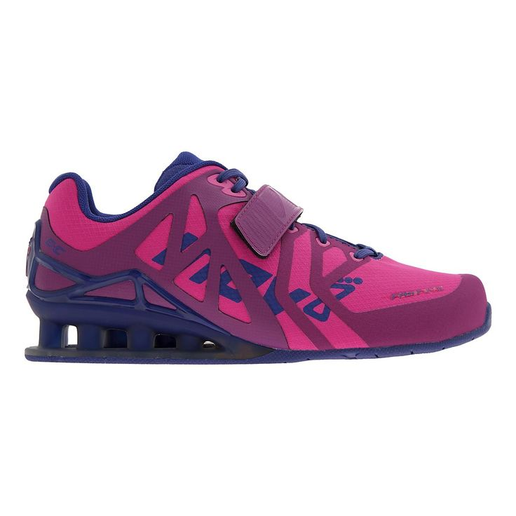 Whether youre doing an extreme fitness workout or just weight-training, youll be raising the bar higher than ever in this ultra light weightlifting shoe, the Womens Inov-8 FastLift 335