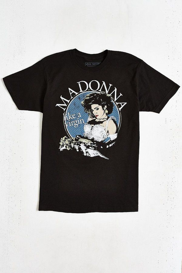 Shop Madonna Virgin Tour Tee at Urban Outfitters today. We carry all the  latest styles, colors and brands for you to choose from right here.