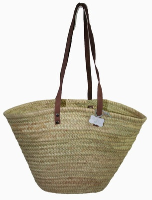 Gorgeous Basket for the Beach - stylish and practical - Le Papillon Vert