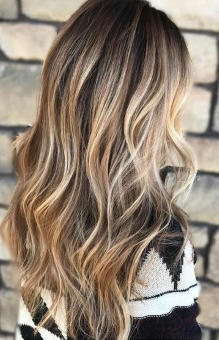 Blonde highlights black under hair #14