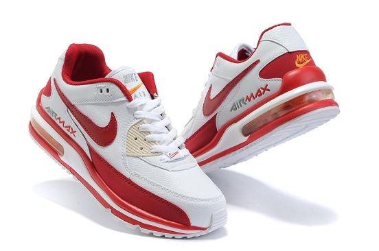 Nike Air Max LTD 2 Men's Running Shoe White Red Sale .
