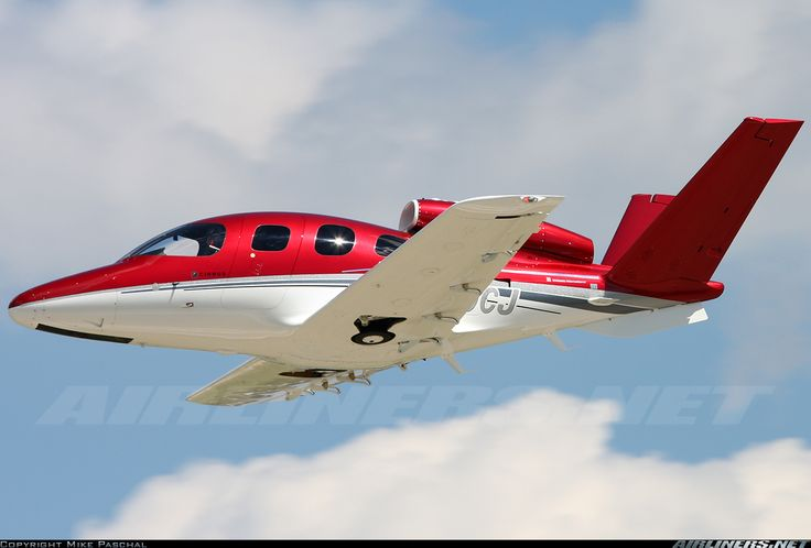 Cirrus Vision SF50. I do prefer the cleaner look of gear doors for the mains, though.