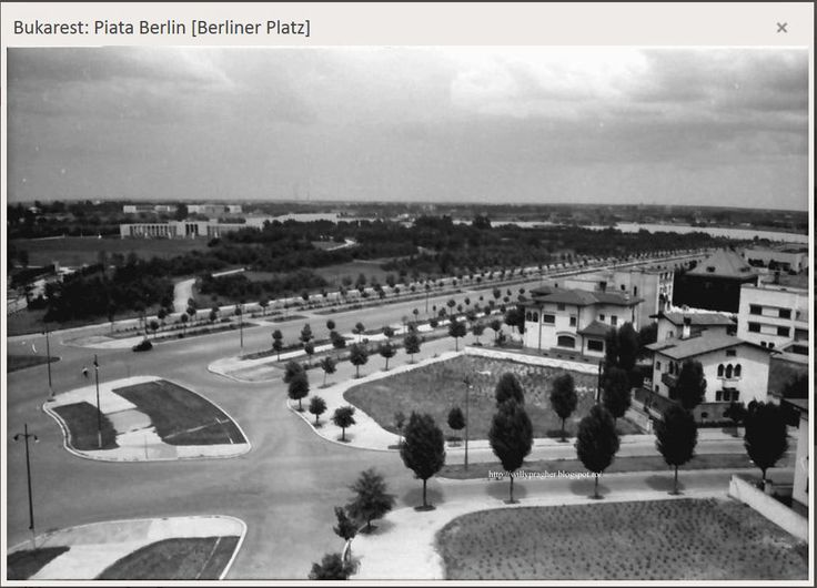 Piața Berlin, astăzi Charles de Gaulle