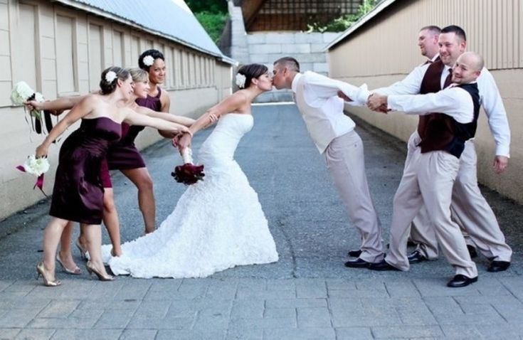 Great way to incorporate wedding party!