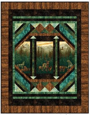 Aspen...Nature Quilt Pattern by Nine Mile Patterns at Creative Quilt Kits