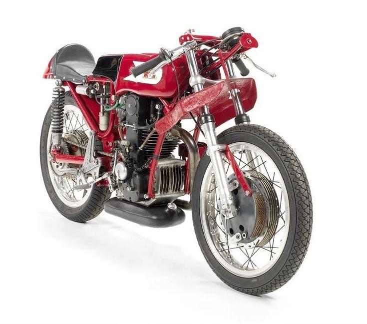 Moto Morini Bialbero Racing Motorcycle