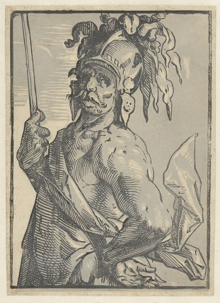 Mars by Hendrick Goltzius, 1586-1590.  Rijksmuseum, Public Domain