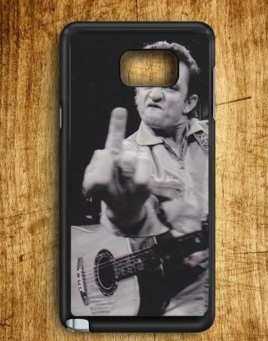 Johnny Cash Samsung Galaxy Note Edge Case