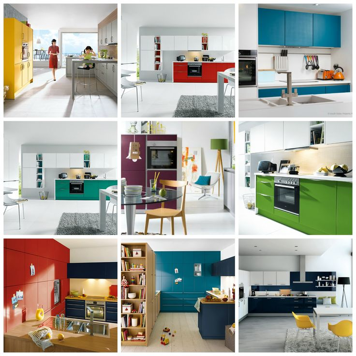 Turn #kitchendesign from ordinary to extraordinary with #colour
