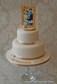 Golden Wedding Anniversary ~ 50 Golden Years Mam and Dad