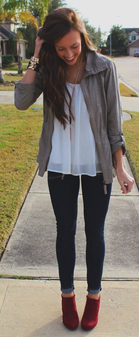 Adorable Ankle Jeans Looks For You