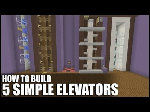 Minecraft PS3 Edition - How To Make A Elevator! ( Redstone Elevator Tutorial PS3/ PS4 ) - YouTube