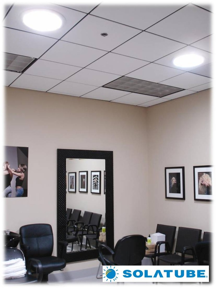 Solatube Daylighting Systems in a salon