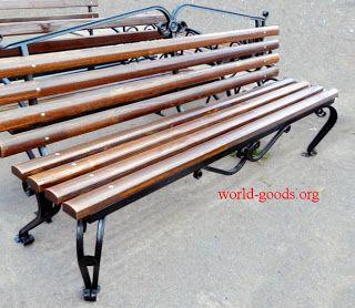 Товары-мира/World-Goods: Скамейка кованая Венеция 2м