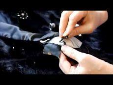 ▶ Юрко Людмила - Ремонт меховых изделий (Урок 3) - YouTube