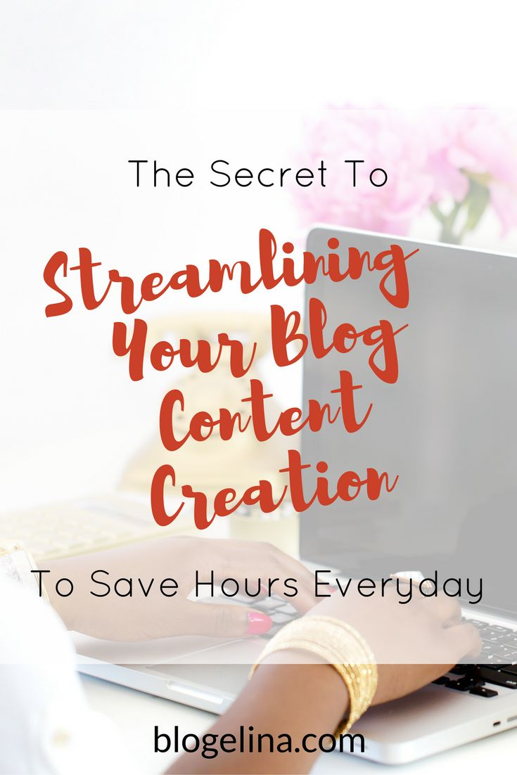 Are you a blogger or infopreneur who's looking to speed up your content creation? This tutorial includes exactly what to do in order to streamline your content creation to save you hour every single day! Click through to read the entire post!