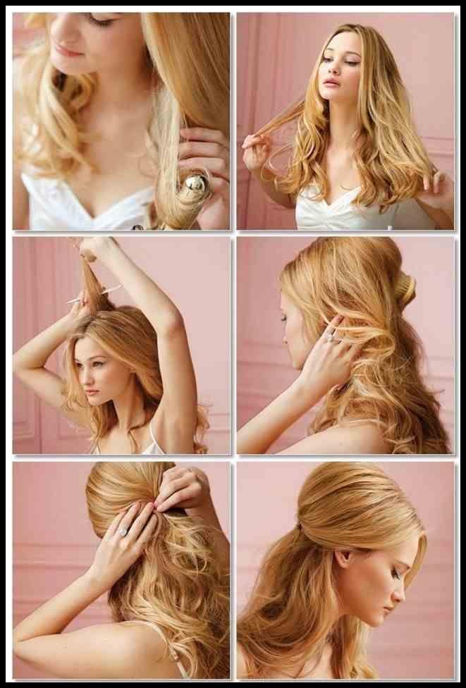 Heute Haben Wir Gleich Zwei Anleitungen Für Elegante Frisuren Eine …