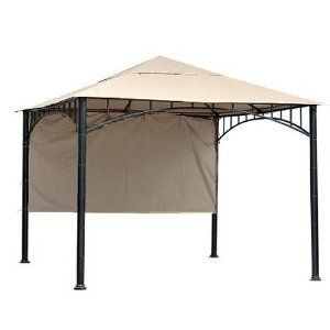 10x10 Gazebo - Smart Easy Outdoor Decor Patio Ideas Canopy .  sc 1 st  Pinterest & Best 25+ 10x10 gazebo ideas on Pinterest | Pergola images Back ...