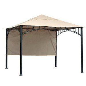 10x10 Gazebo - Smart Easy Outdoor Decor Patio Ideas, Canopy ...