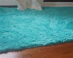 Our Mykonos Sea College Plush Rug is the epitome of comfy AND cute!  http://www.dormco.com/SearchResults.asp?Search=College+Plush+Rug+-+Mykonos+Sea