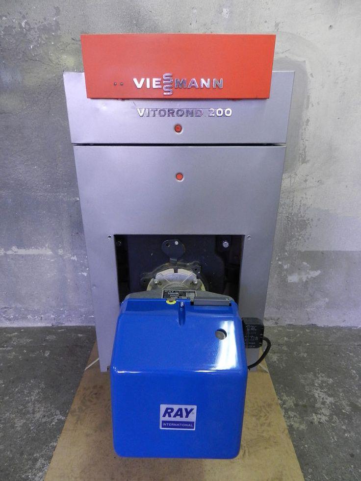 Viessmann Vitorond 200 VR2 Öl-Heizkessel 22 kW Vitotronic 100 Bj. 2001 in Heimwerker, Installation, Heizung   eBay!