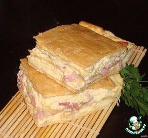 "Пирог ""Сырное суфле"""
