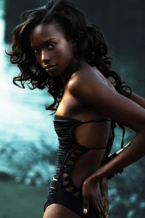 Opinion you dark skin black girl simply excellent