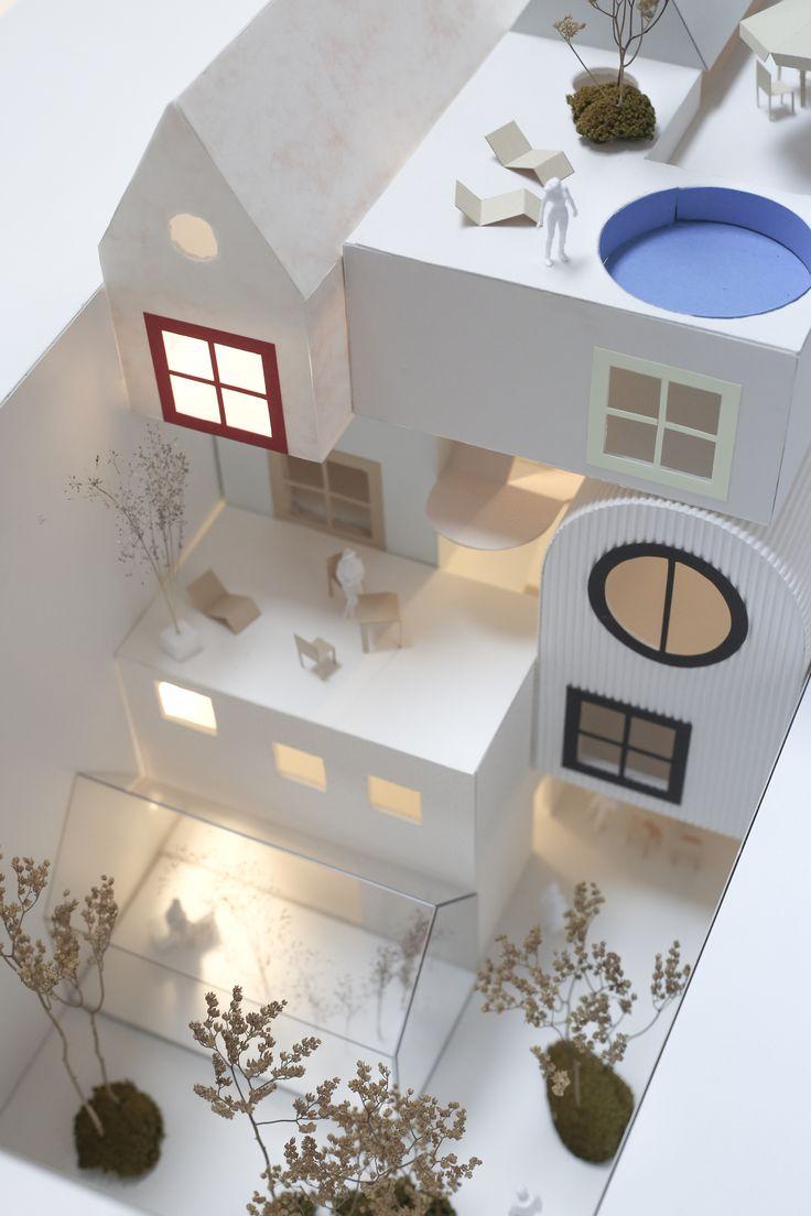Très Les 25 meilleures idées de la catégorie Architecture de maquette  ZH75
