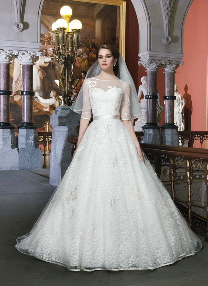 Justin Alexander Wedding Dresses 2014 Bridal Collection. To see more: http://www.modwedding.com/2014/01/11/justin-alexander-wedding-dresses-2014-bridal-collection/ #wedding #weddings #fashion
