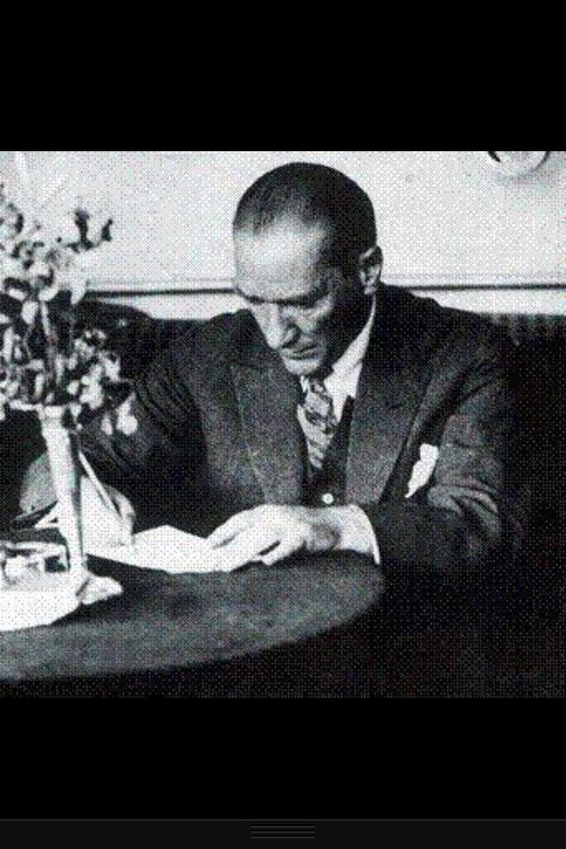The founder and great leader of Turkish Republic: Mustafa Kemal Atatürk