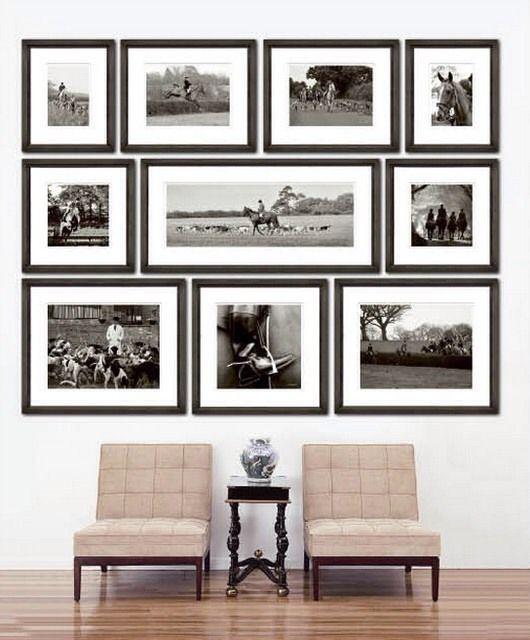 Perfect Photo Arrangement | Content in a Cottage