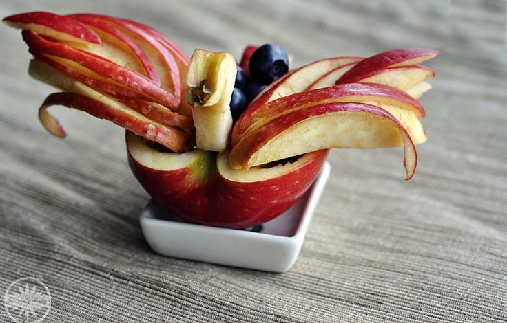 Garde Manger - made from apples and blueberries