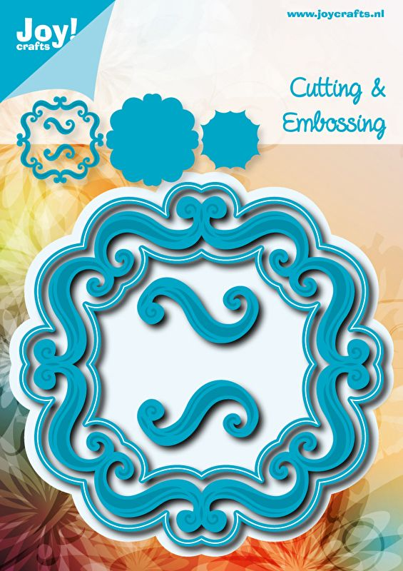 6002/0535 Noor! Design Blauw Vierkant accolades