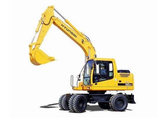 Hyundai R140w 7 Wheel Excavator Service Manual Hyundai Excavator Manual