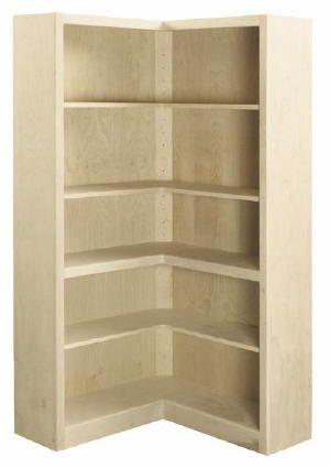 Best 25 corner bookshelves ideas on pinterest for Custom bookcase plans