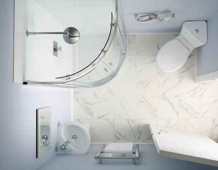 24 best teeny weeny en suites images on Pinterest | Bathroom, Small ...