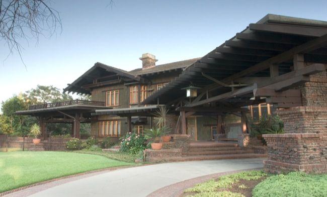 Blacker house 1907 pasadena ca arts crafts for Pasadena craftsman homes