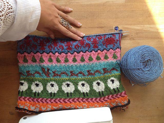 333 best Lovely fair isle knitting images on Pinterest   Backpacks ...