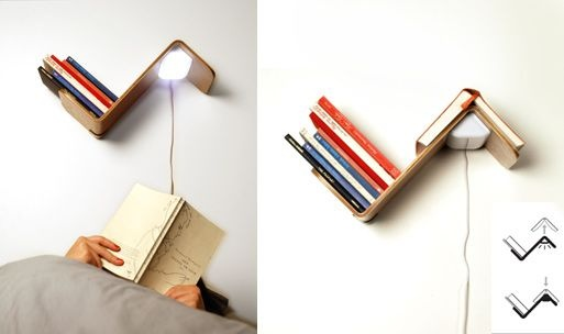 Lili light. Turns off when book placed on top, so clever!