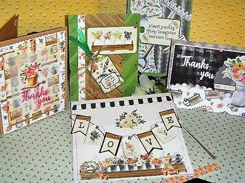 (127) 10 Cards, 1 Kit | Simon Says Stamp March 2018 (Part 1 of 2) - YouTube