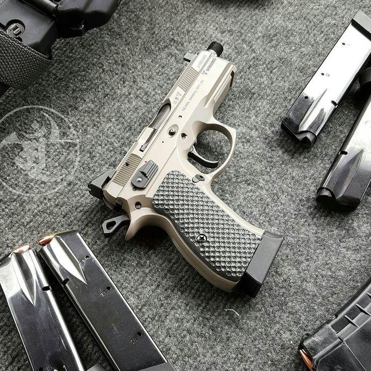 Most photogenic pistol ever. @czusafirearms Urban P01. #gunsdaily #weaponsdaily…