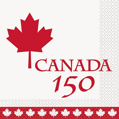 Canada will be 150 years old on July 1, 2017. I'm proud of being Canadian!